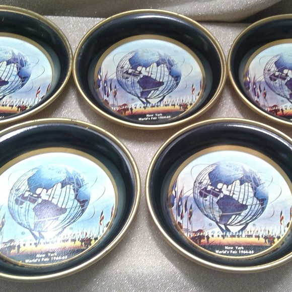 Other - VTG Set of 5 Coasters  NY Worlds Fair 1964/65